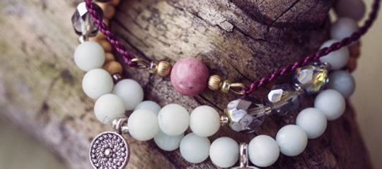 Bracelets en pierres